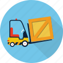 forklift, truck, warehouse, delivery, shipping, transport, transportation