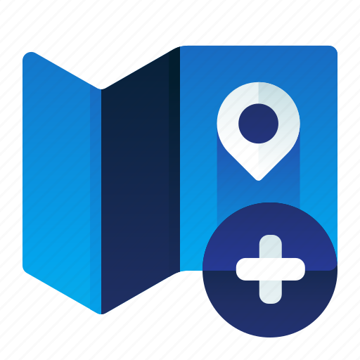 Add, create, location, map, new icon - Download on Iconfinder
