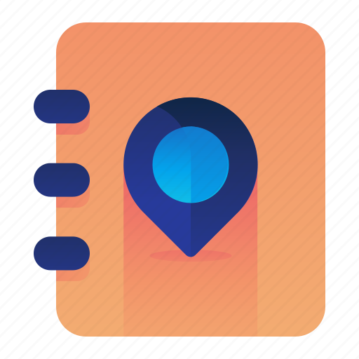 Address, book, location, pin, pointer icon - Download on Iconfinder
