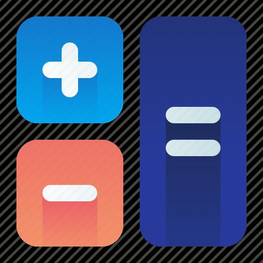 Calculations, calculator, math, mathematics icon - Download on Iconfinder