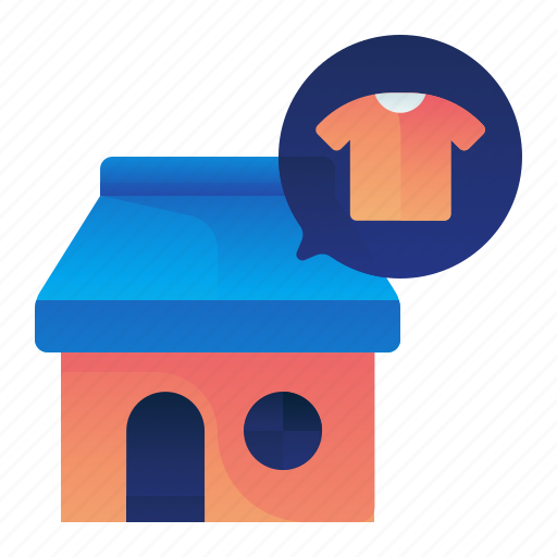 clothes, clothing, shop, shopping, store icon