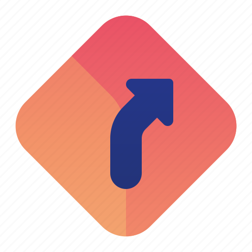 Arrow, direction, right, sign, street icon - Download on Iconfinder