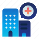 health, healthcare, hospital, location, medical icon