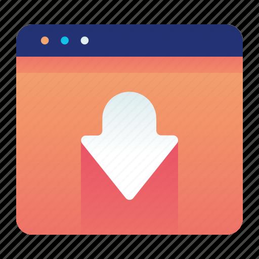 Browser, landing, page, web, website icon - Download on Iconfinder