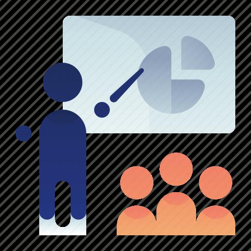 Chart, graph, pie, presentation icon - Download on Iconfinder