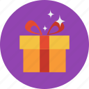 a, badge, gift, make, online shopping, present, ribbon icon