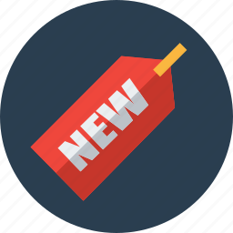 ecommerce, new, online shopping, product, products, sale, tag icon
