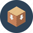 ecommerce, online shopping, packing, product, sale, shopping, store icon