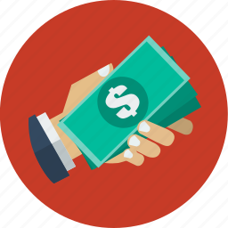 cash, delivery, dollar, ecommerce, money, online shopping, payment icon