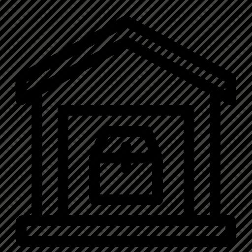 repository, store, store room, storehouse, wareshouse icon