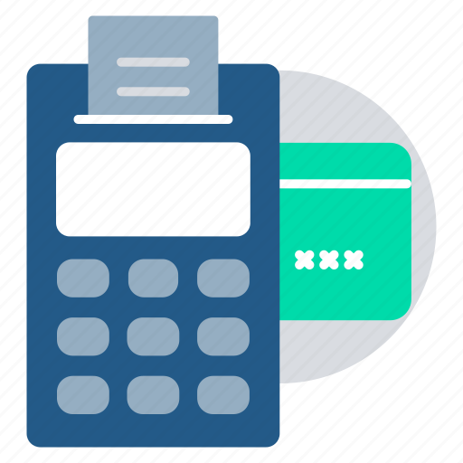 card payment, pay amount, pay cash, payment, swiping machine icon
