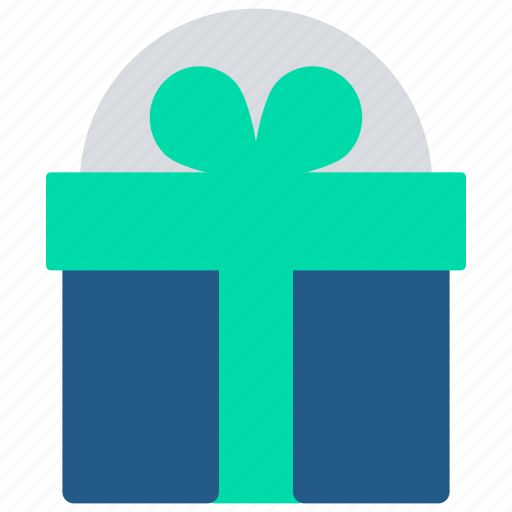 delivery, ecommerce, free, gift box, offer, present, shipping icon
