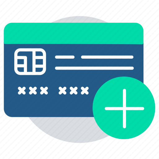 add card, banking, ecommerce, secured payment, shopping, transaction icon