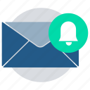 alert, bell, email, notification, offer, reminder icon