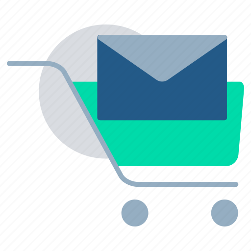 buy, ecommerce, email notification, notification, reminder, shopping cart icon