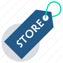 discount, ecommerce, online marketing, price tag, shopping, store icon