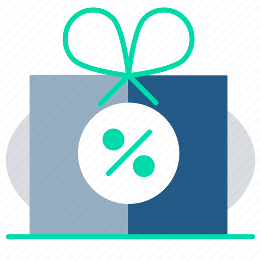delivery, free, gift box, offer, present, shipping icon