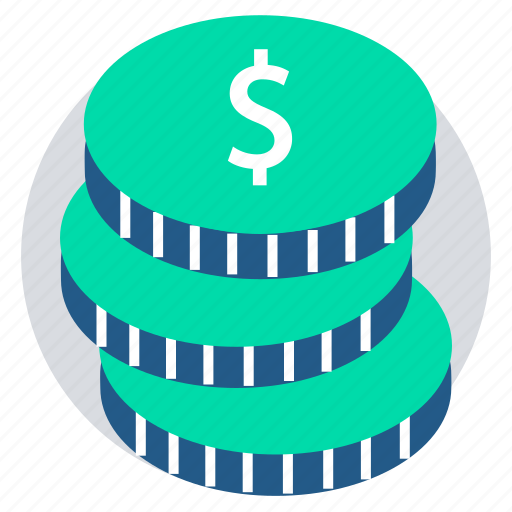 coins, dollar, pay amount, pay cash, payment, shopping icon