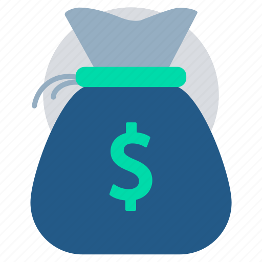 coin bag, dollar exchange, finance, gold coins, investment, money icon