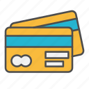 bank, card, credit, credit card, ecommerce icon