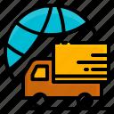 car, delivery, holiday, package, transport, transportation, travel