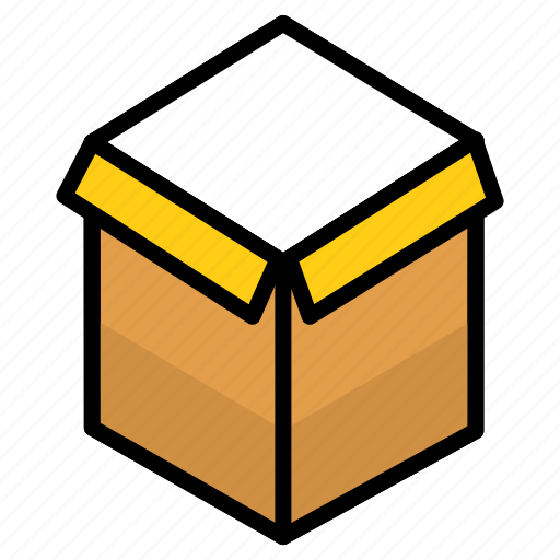 delivery, files, gift box, package, parcel, service icon