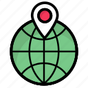 delivery address, ecommerce, global, location marker, location pin, map icon