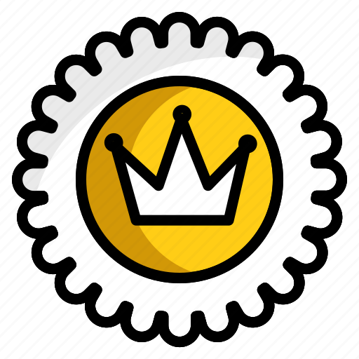 crown, offer, plans, premium customer, quality service icon