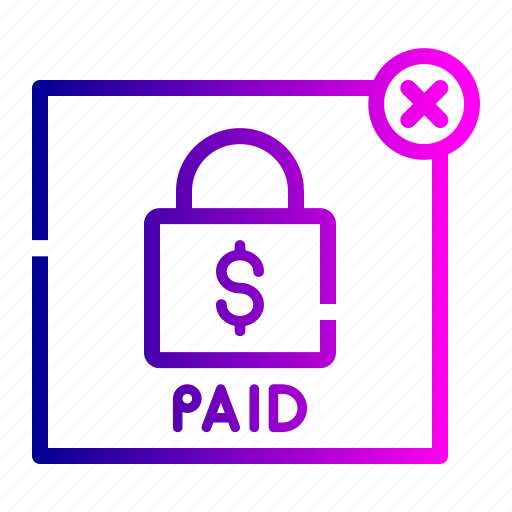 ads, advertisement, label, money, paid, product, secure icon