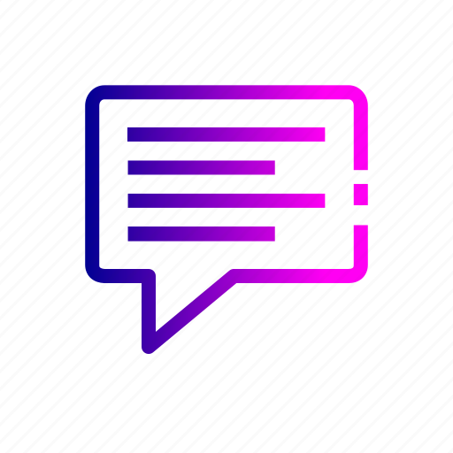 chat, chatting, comment, compliant, discusstion, feedback, message icon