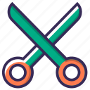 barber, cut, equipment, scissor, scissors, tailor, tool icon