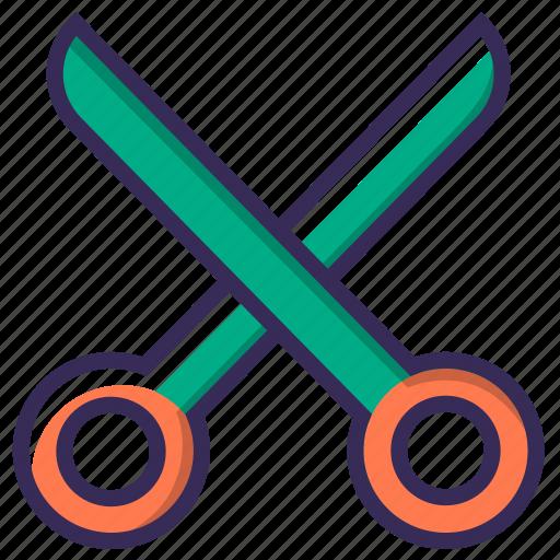 barber, cut, equipment, scissor, scissors, tailor, tool icon