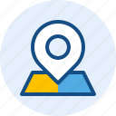 e commerce, location, map, target