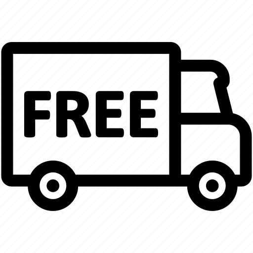 delivery, free, shipping icon