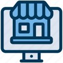 online, shop, store icon