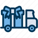 delivery, free, gift icon
