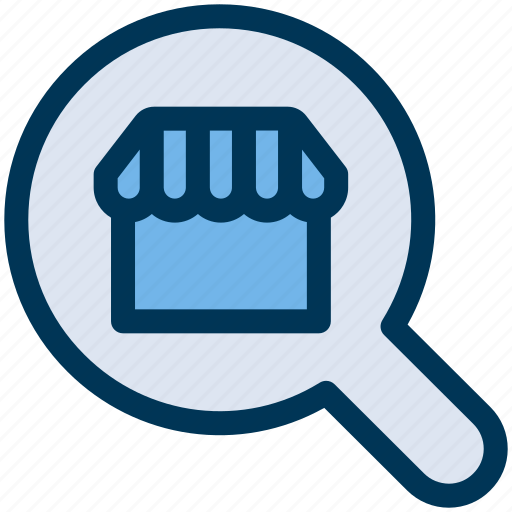 find, search, shop icon