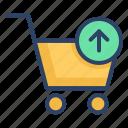 basket, buy, cart, ecommerce, shopping, shopping cart, trolley