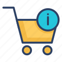 basket, cart, ecommerce, payment, shopping, shopping cart, trolley icon