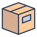 box, cargo, delivery, logistics, package, parcel, product icon
