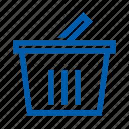 basket, ecommers, set icon