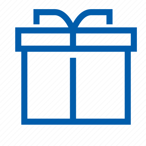 ecommers, gift, set icon