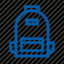 bag, ecommers, school, set icon