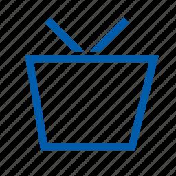 basket, cart, ecommers, set icon