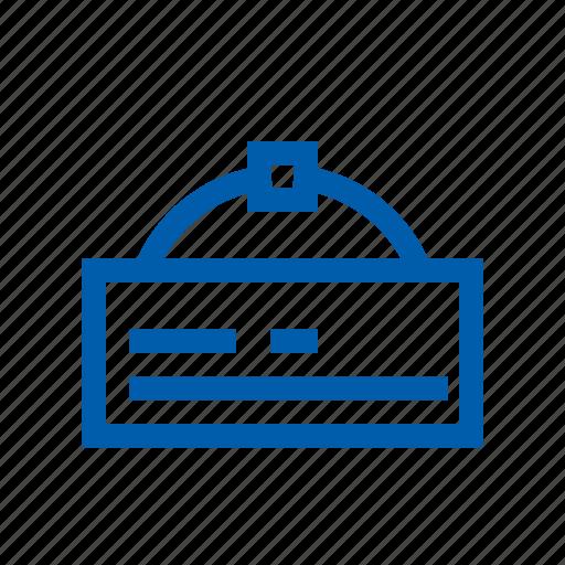 door, ecommers, open, set icon