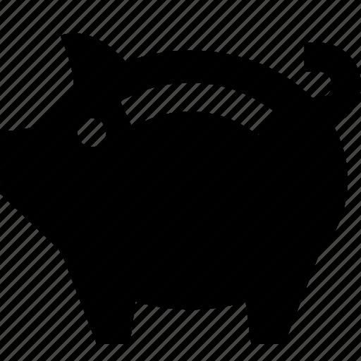 bank, money, pig, piggy, savings icon