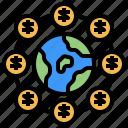 coins, commerce, economy, global, marketing, online
