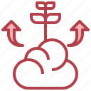 business, dollar, finance, growth, investment icon