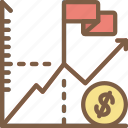 country, economical, economy, financial, growth, money, profit icon