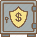 economical, financial, growth, money, profit, protection icon